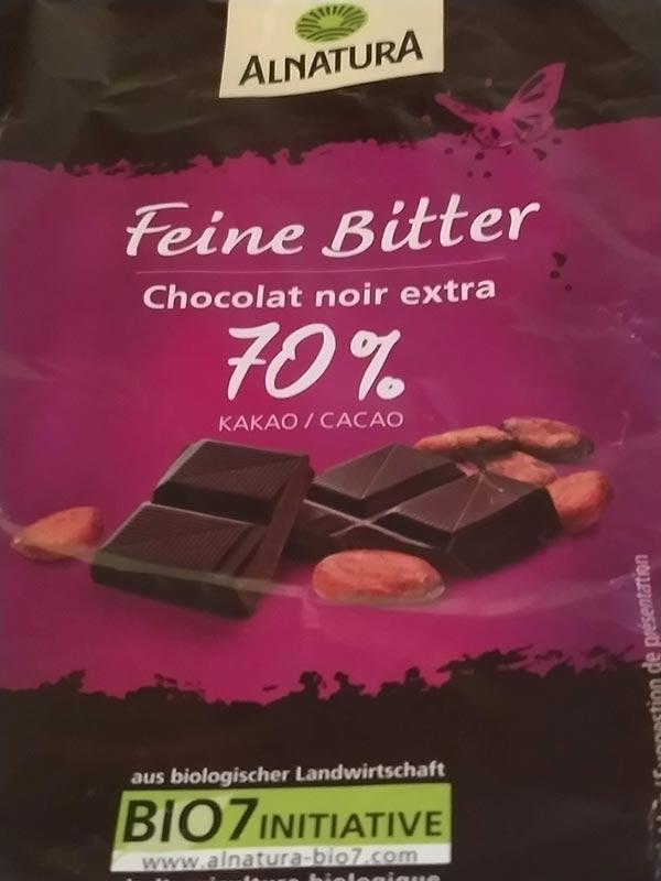 alnatura Schokolade 70%